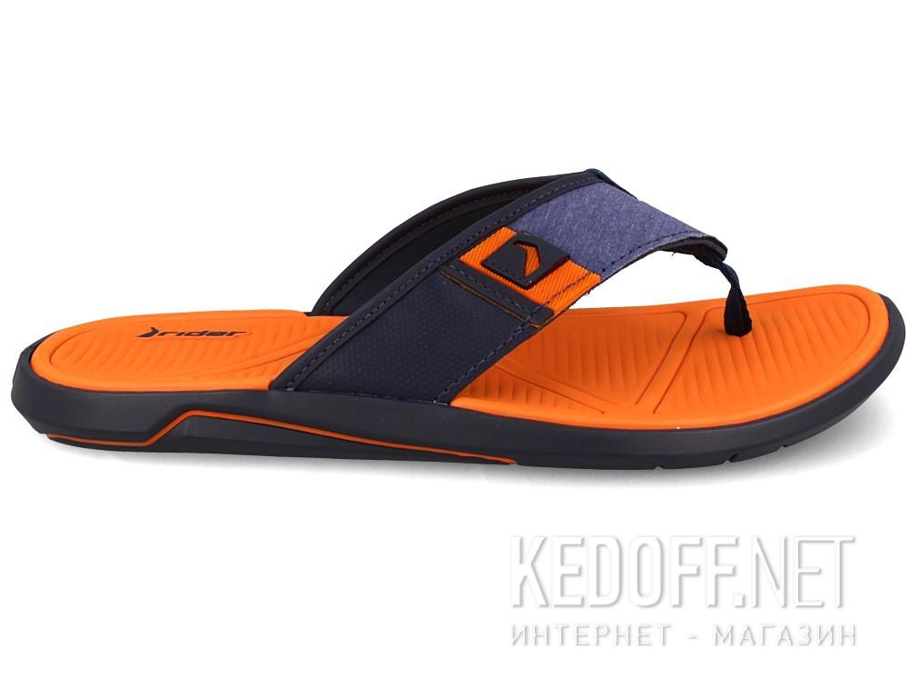 Вьетнамки Rider 11027-22455 унисекс   (оранжевый/синий) купить Украина