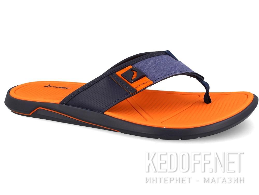 Купить Вьетнамки Rider 11027-22455 унисекс   (оранжевый/синий)