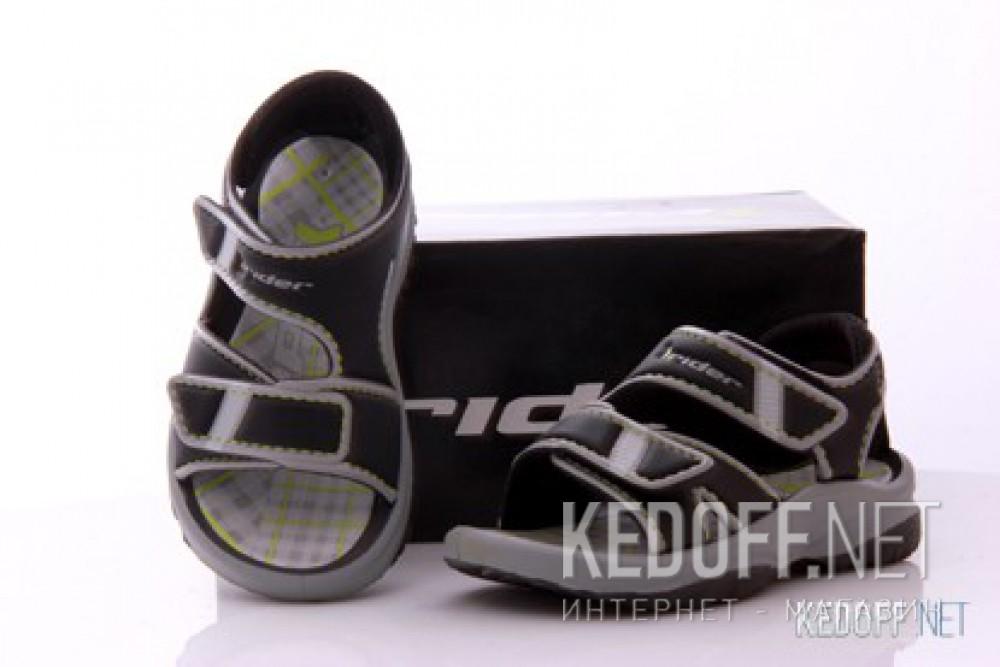 Босоножки Rider 80436-21916 (чёрный/серый) купить Украина