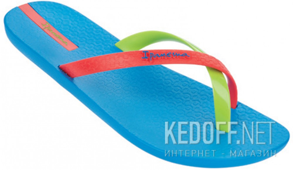 Flip Flops Ipanema Mix Color 81137-24010 Blue | Light green | Orange