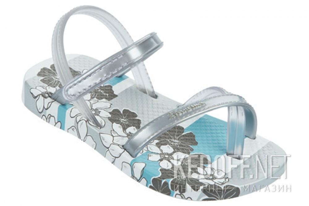 Пляжная обувь Ipanema 81497-20932 унисекс   (серый/белый) описание