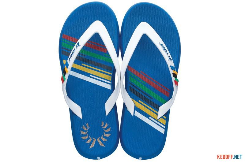 Мужские вьетнамки Rider R1 Olympics 81530-21308 Made in Brazil