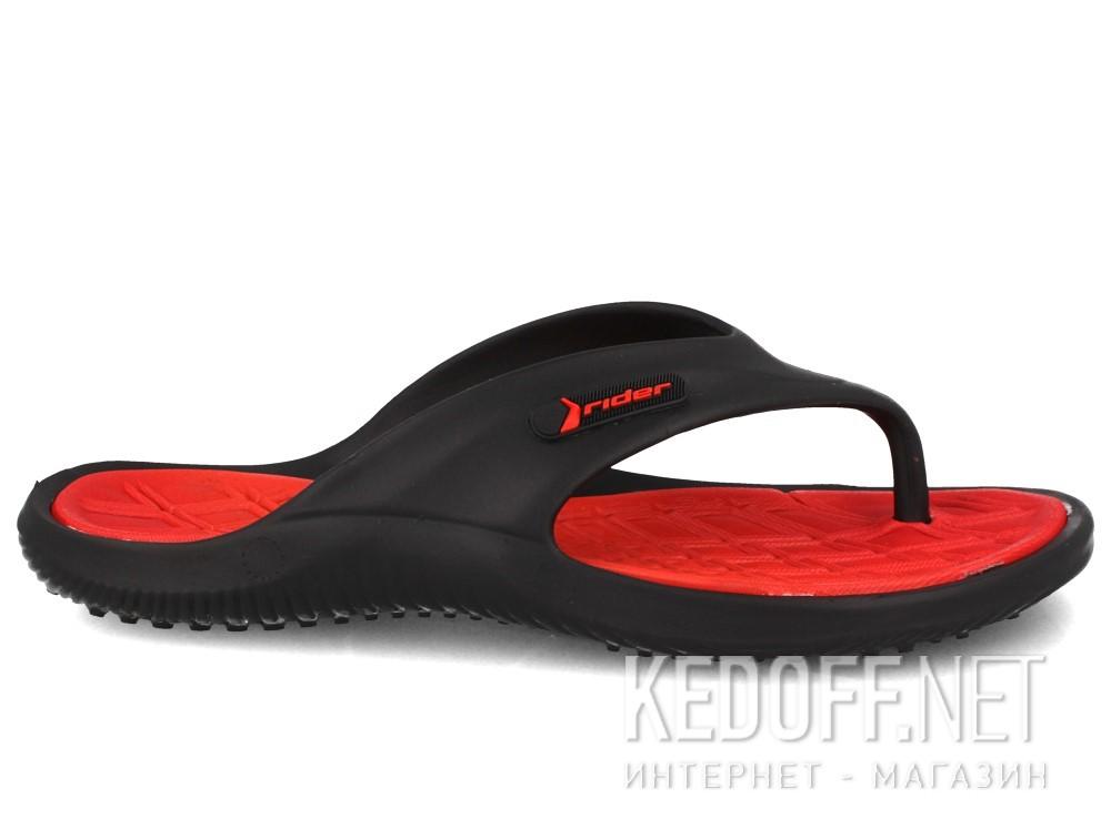 Вьетнамки Rider Cape X 81900-24136 унисекс   (чёрный/красный) купить Украина