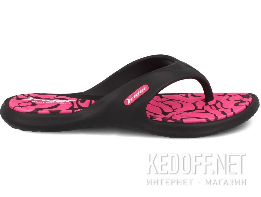 Женские вьетнамки Rider 81905-22883 (розовый/чёрный) купить Украина