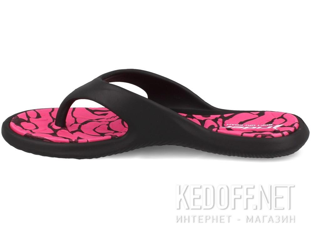 Женские вьетнамки Rider 81905-22883 (розовый/чёрный) купить Киев