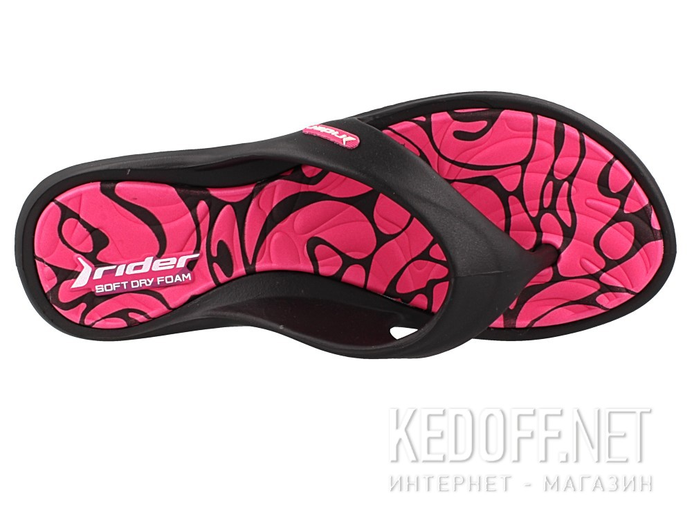 Женские вьетнамки Rider 81905-22883 (розовый/чёрный) описание
