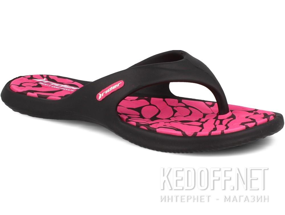 Купить Женские вьетнамки Rider 81905-22883 (розовый/чёрный)