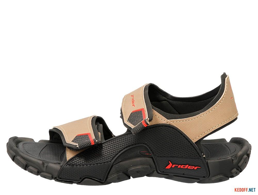 Пляжная обувь Rider 81910-20855 унисекс   (бежевый/чёрный) купить Украина