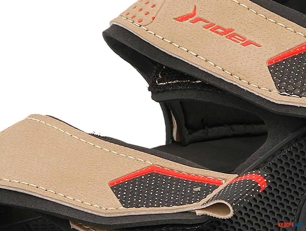 Оригинальные Пляжная обувь Rider 81910-20855 унисекс   (бежевый/чёрный)
