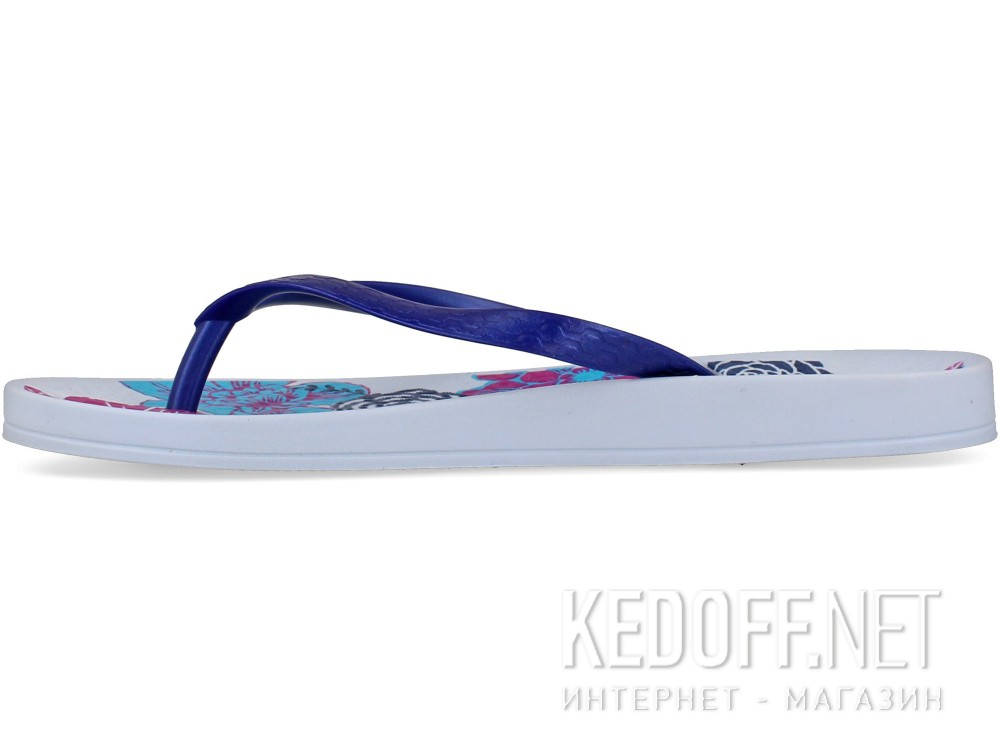 Шлепанцы Ipanema Anatomic Temas VI Fem 81924-20764 (голубой/синий/белый) купить Украина