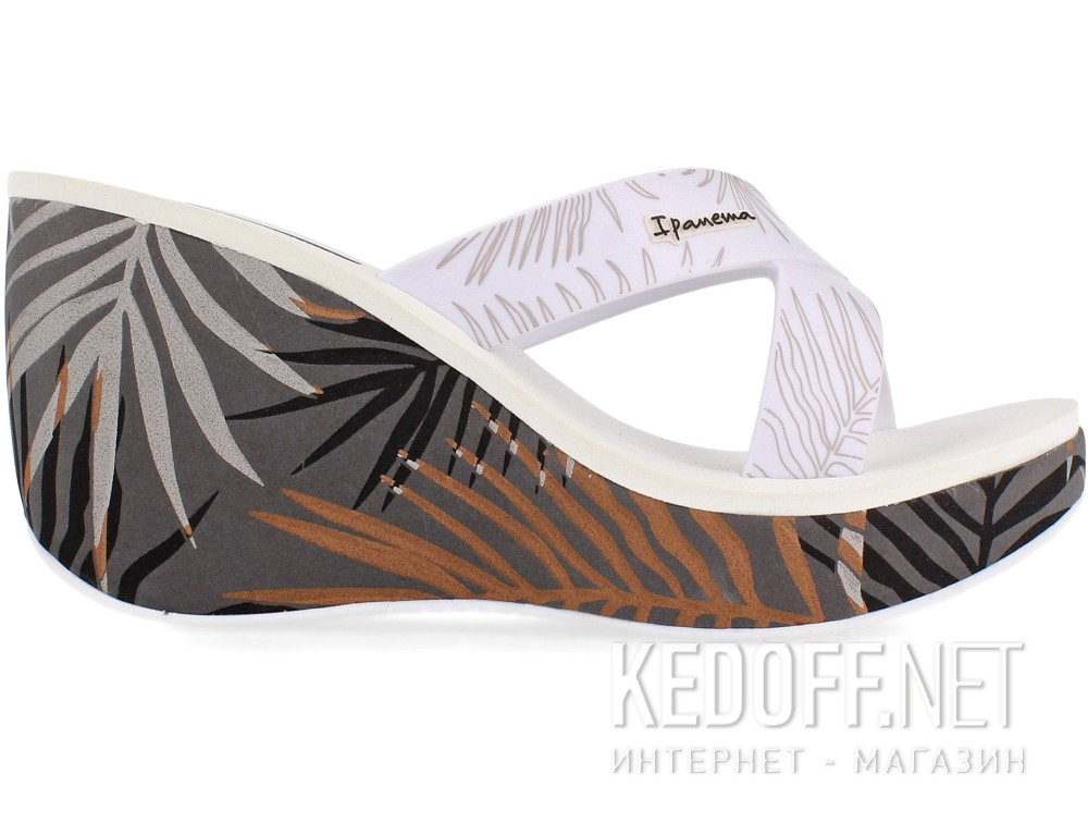 Женские шлепанцы Rider 81934-23968    (серый/белый) купить Киев