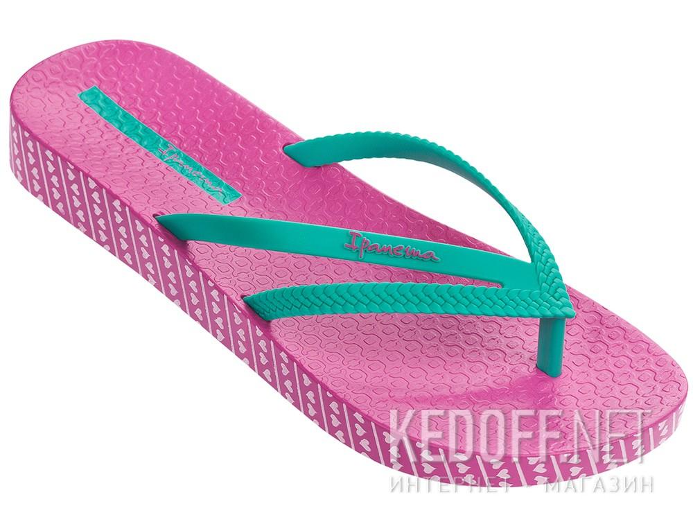 Шлепанцы Rider Ipanema Bossa Soft Fem 82064-22110 унисекс   (розовый/зеленый) все размеры