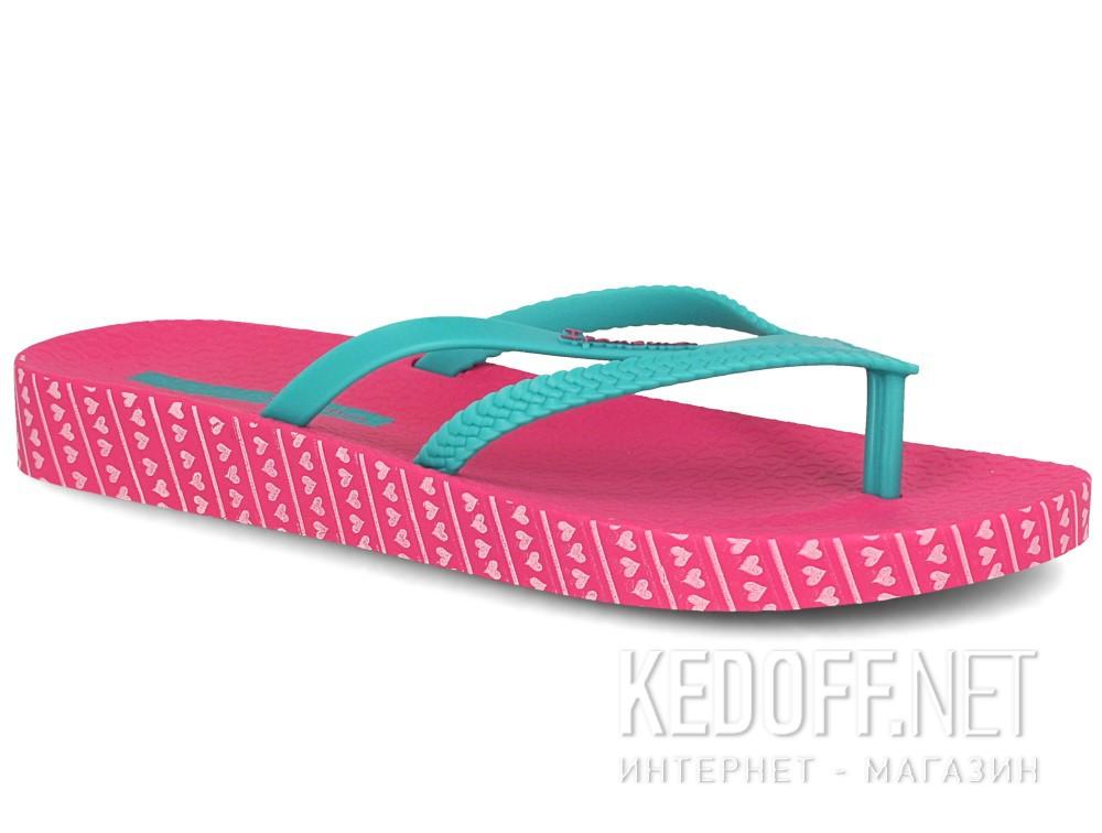 Купить Шлепанцы Rider Ipanema Bossa Soft Fem 82064-22110 унисекс   (розовый/зеленый)