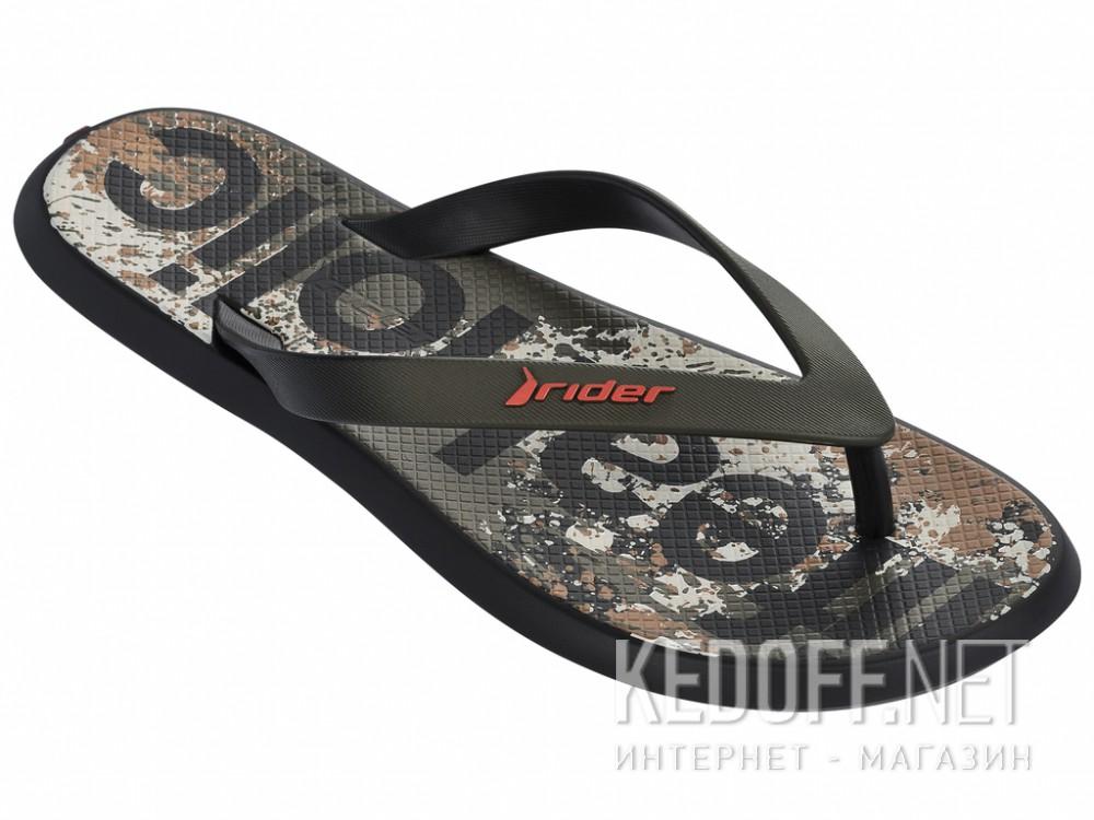 Купить Вьетнамки Rider R1 Energy VI 82024-21555 унисекс   (хаки/чёрный)