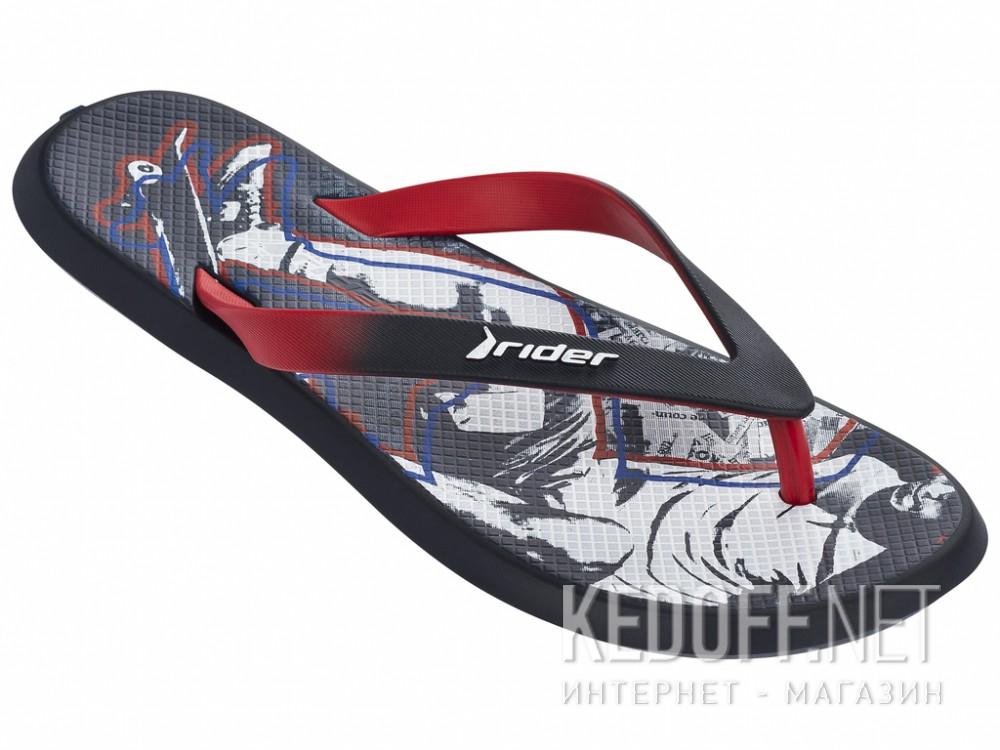 Купить Вьетнамки Rider R1 Energy VI 82024-24127 унисекс   (тёмно-синий/красный)