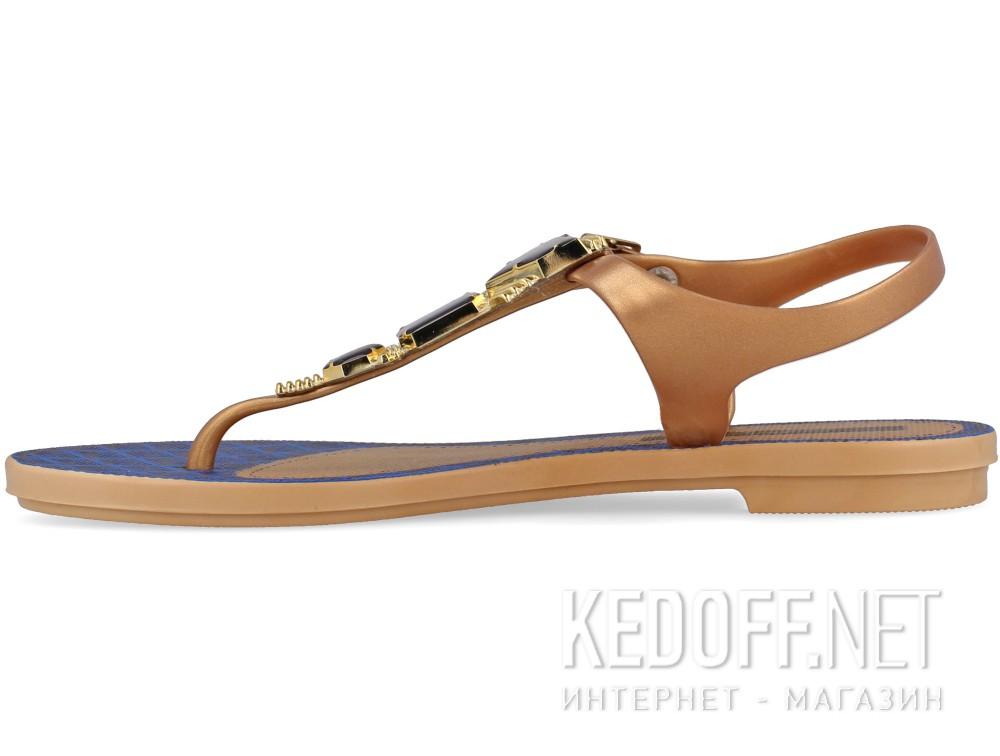 Женские босоножки Grendha Jewel 81970-23139    (бежевый/синий) купить Украина