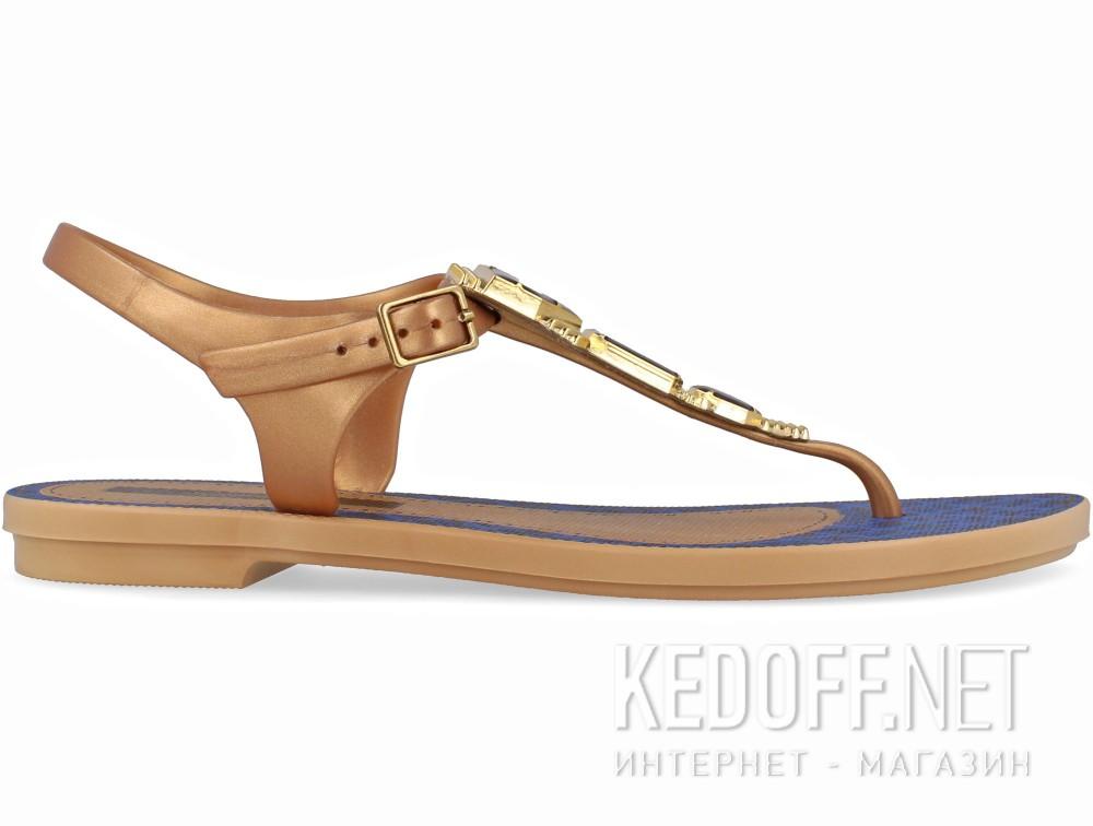Женские босоножки Grendha Jewel 81970-23139    (бежевый/синий) купить Киев