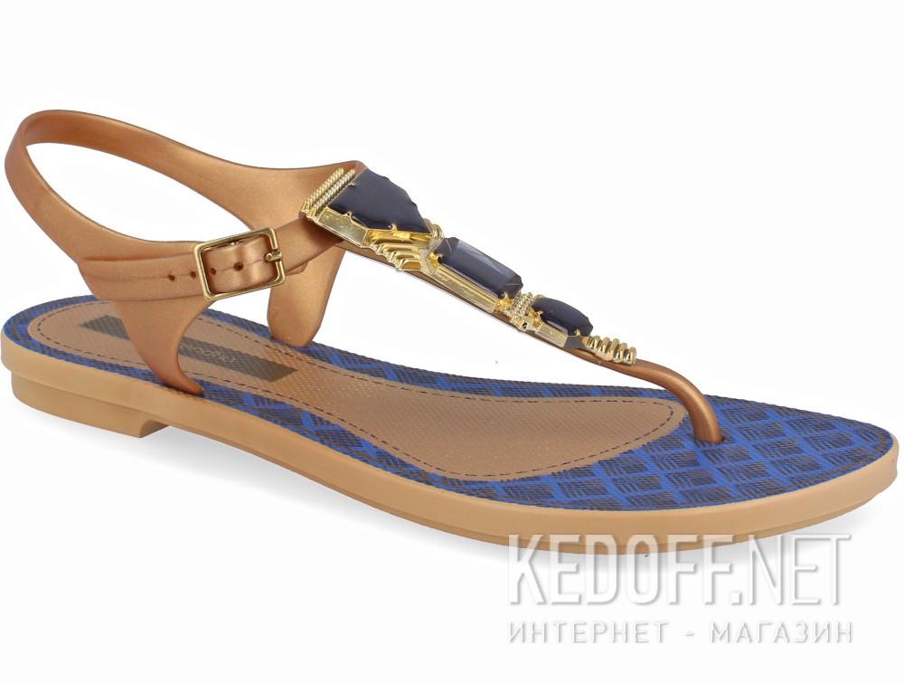 Купить Женские босоножки Grendha Jewel 81970-23139    (бежевый/синий)