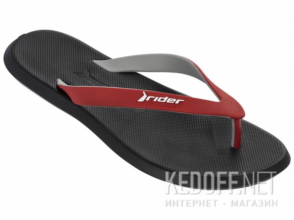 Купить Вьетнамки Rider R1 10594-24063   (чёрный/красный/серый)