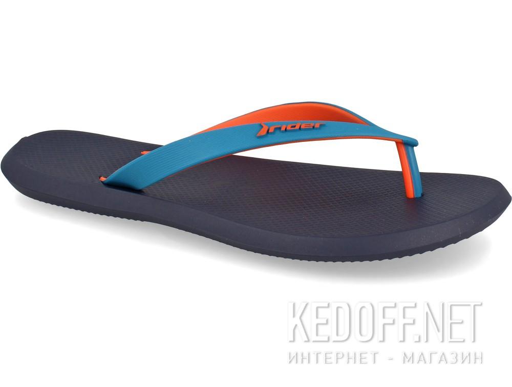 Купить Вьетнамки Rider R1 10594-24193   (тёмно-синий/бирюзовый/оранжевый)