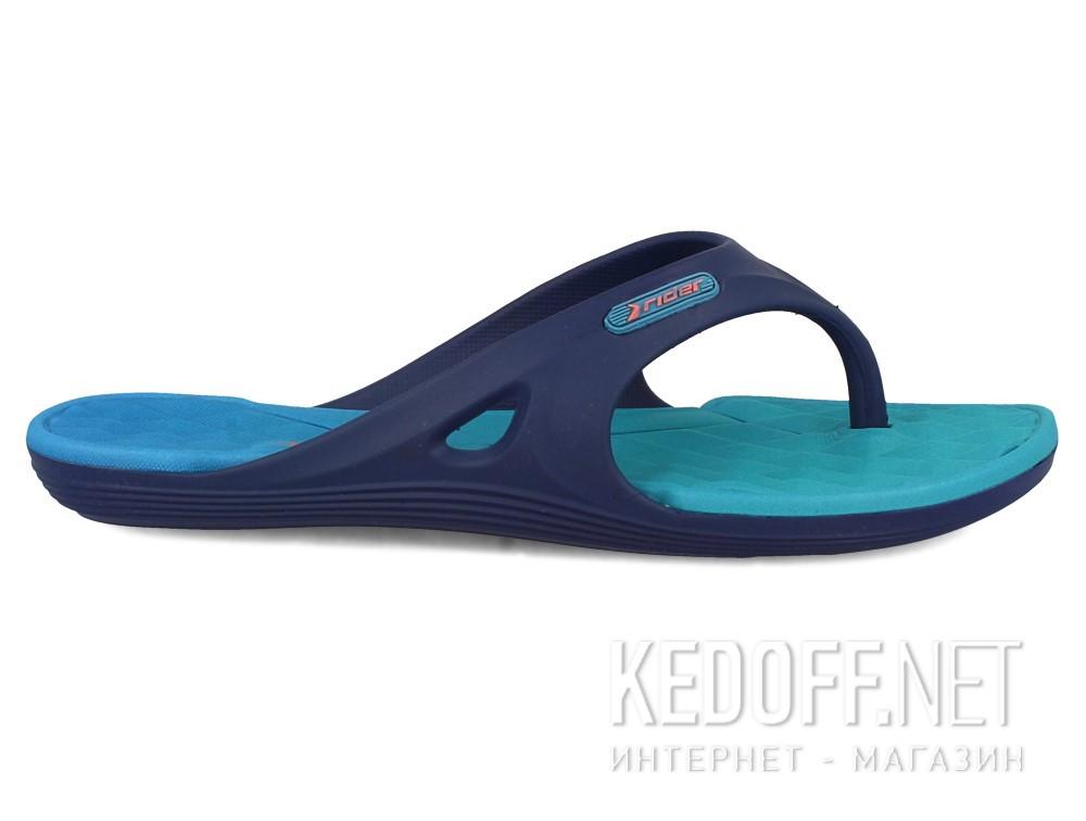 Вьетнамки Rider Monza 81920-24152 (тёмно-синий/бирюзовый) купить Украина