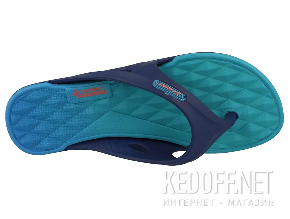 Оригинальные Вьетнамки Rider Monza 81920-24152 (тёмно-синий/бирюзовый)