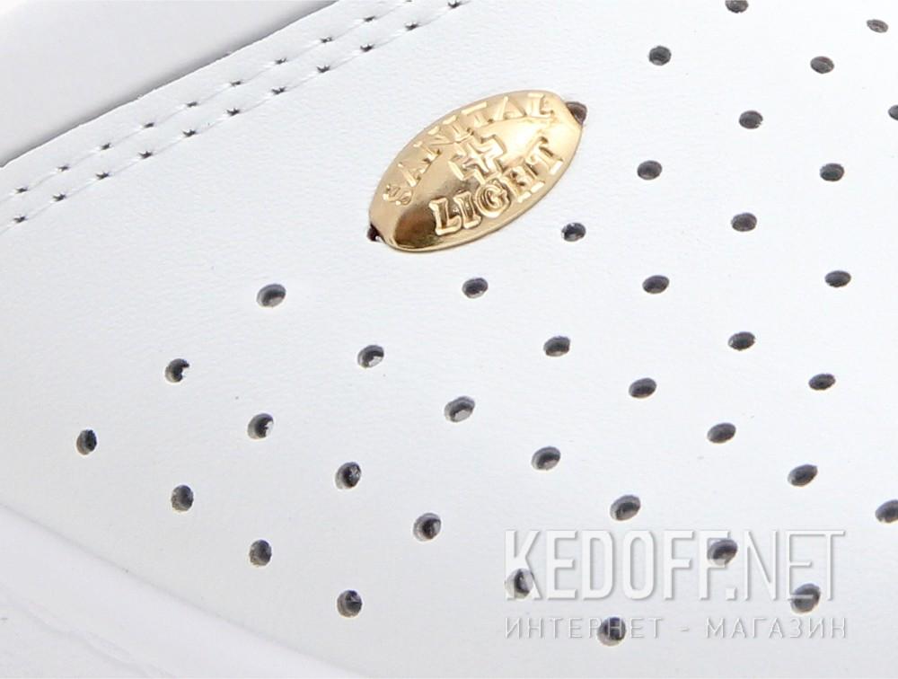 Сабо комфорт Sanital Light Antishok 1350-13 Made in Italy Біла шкіра
