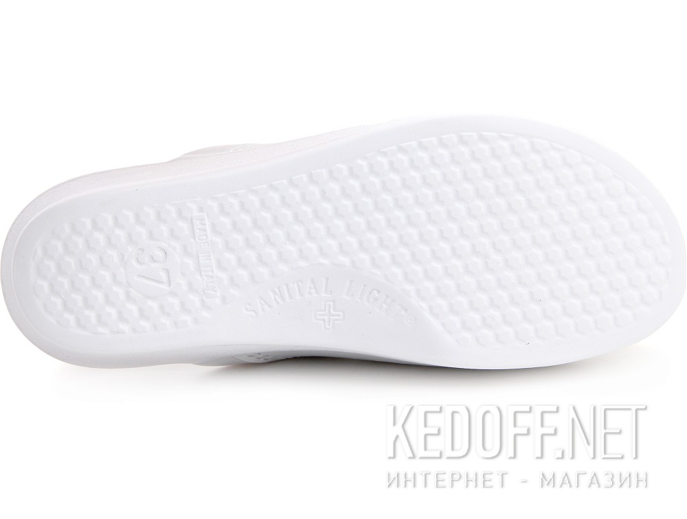 Clogs Sanital Light 374-13 Bianco Made in Italy