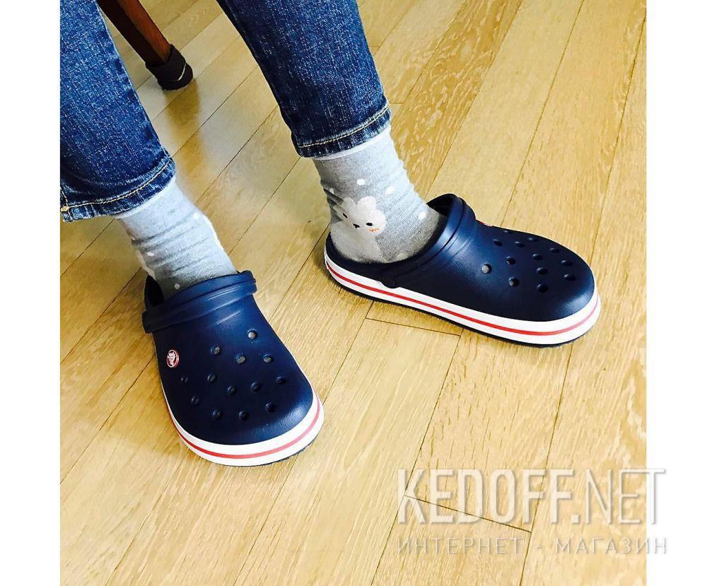 Сандалии Crocs Crocband 11016-410 унисекс   (синий/белый) все размеры