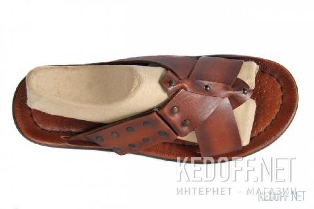 Оригинальные Мужские сандалии Subway SX 107   (коричневый)