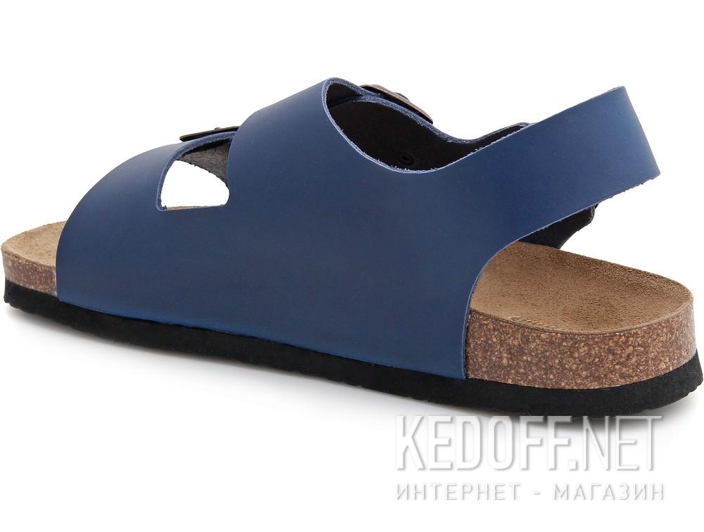 Мужские сандалии Las Espadrillas 06-0190-003   (синий) купить Украина