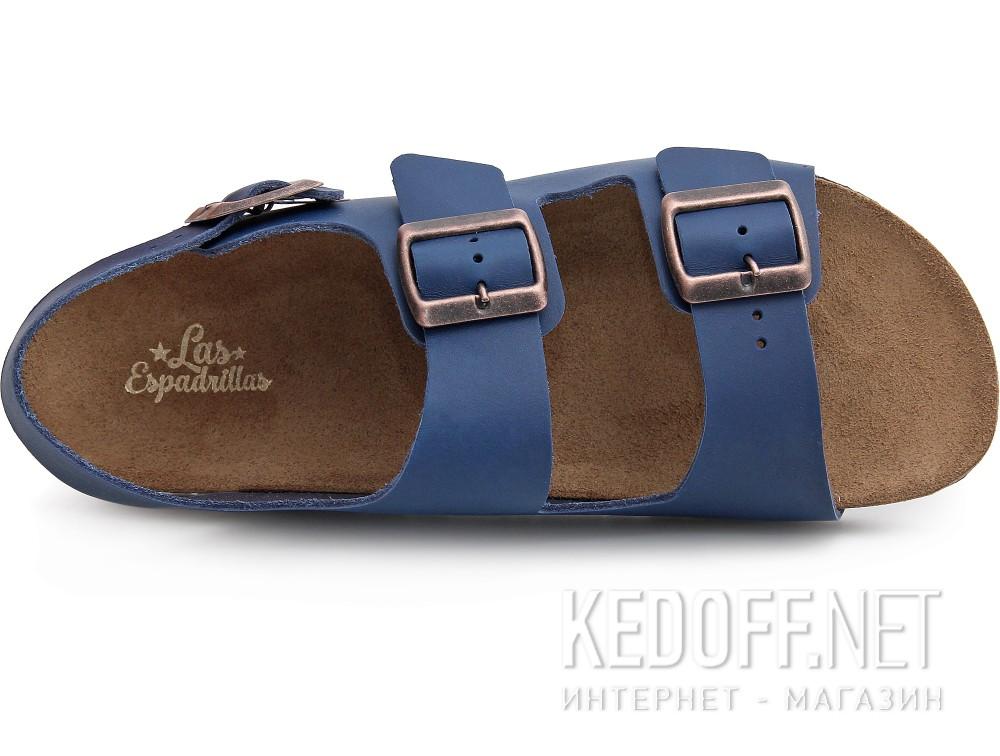 Оригинальные Мужские сандалии Las Espadrillas 06-0190-003   (синий)