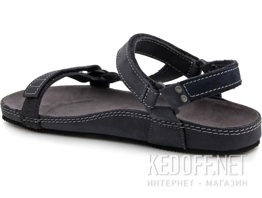 Мужские сандалии Las Espadrillas 06-0192-001   (тёмно-синий) купить Украина