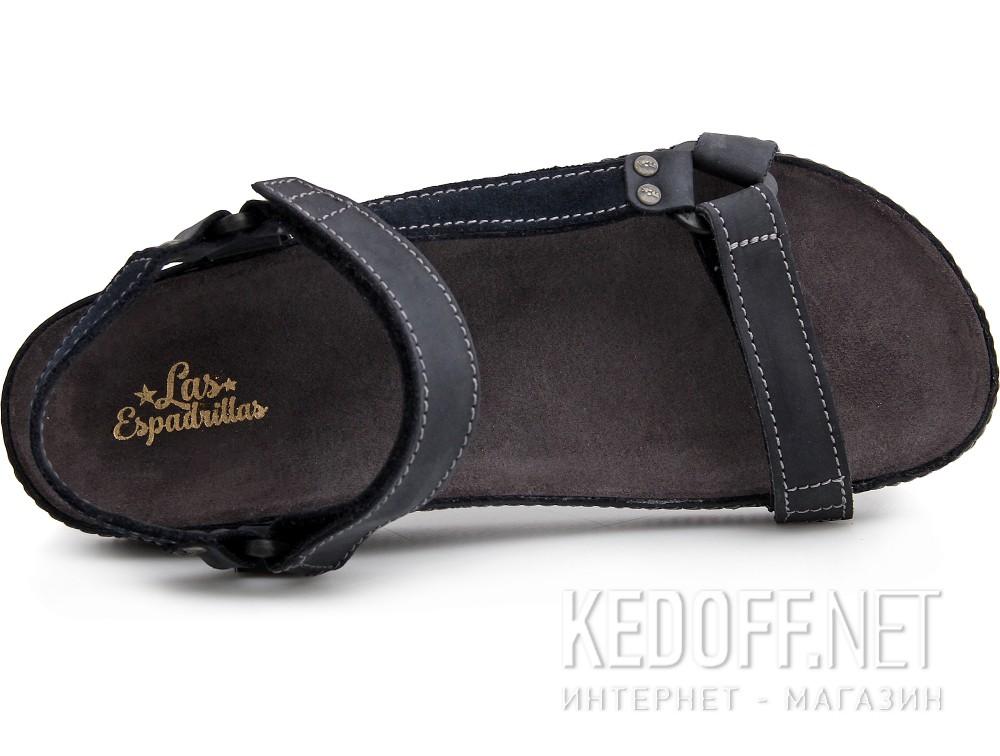 Мужские сандалии Las Espadrillas 06-0192-001   (тёмно-синий) купить Киев
