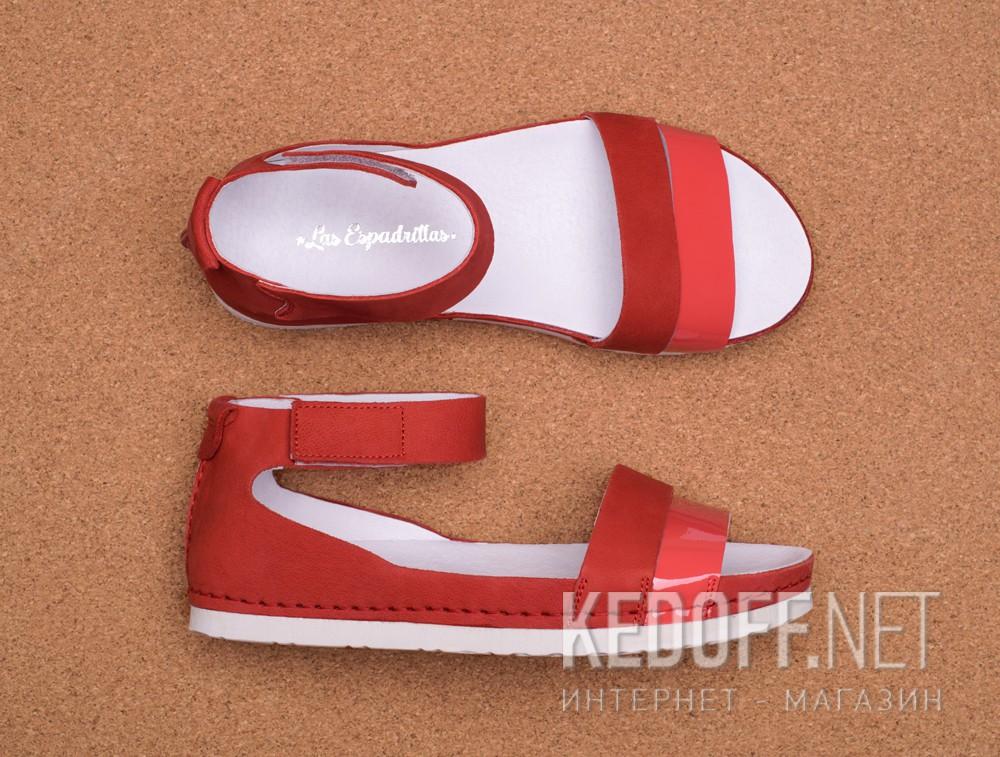 Orthopedic shoes Las Espadrillas 07-0275-003(red) описание