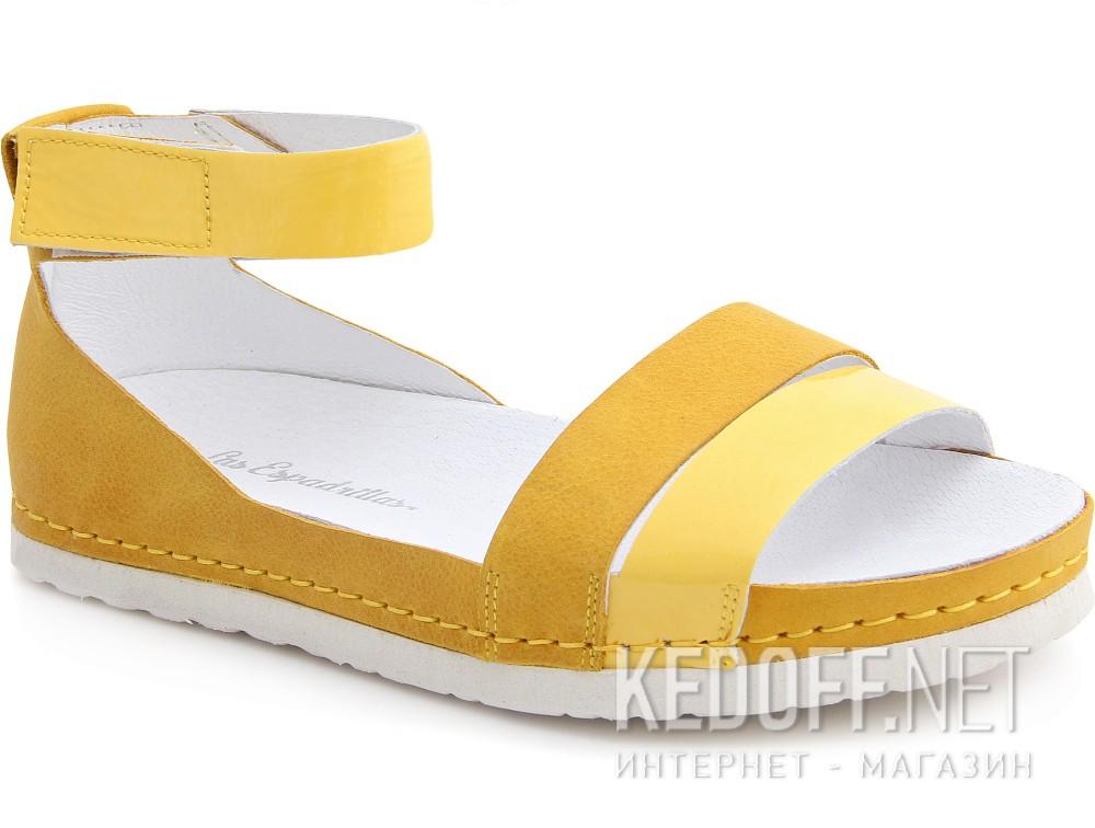 Купить Босоножки Las Espadrillas 07-0275-004(жёлтый)