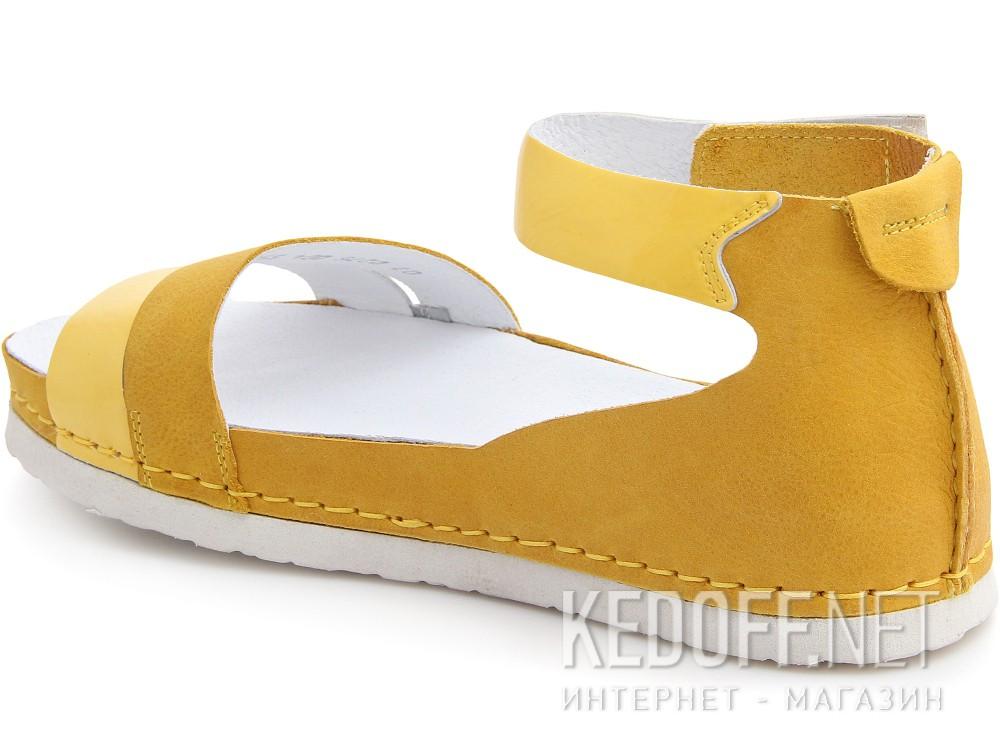Босоножки Las Espadrillas 07-0275-004 унисекс   (жёлтый) купить Украина