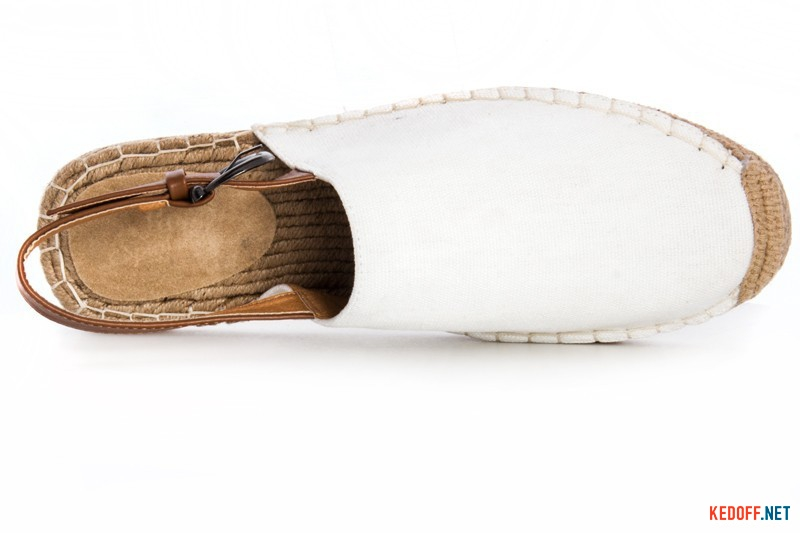 Men's sandals Las Espadrillas 110-13SD White