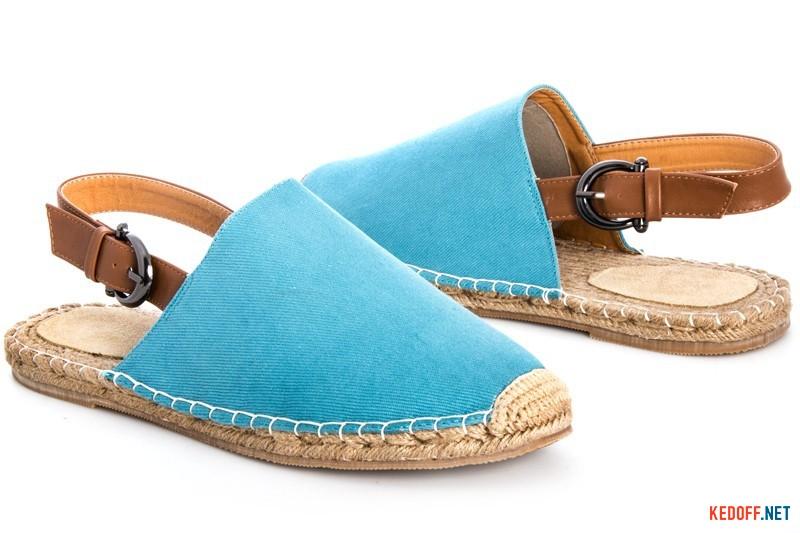 Чоловічі сандалі Las Espadrillas 110-43SD Блакитні