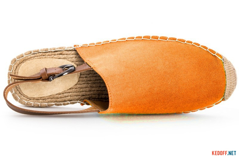 Men's sandals Las Espadrillas 110-00SD orange
