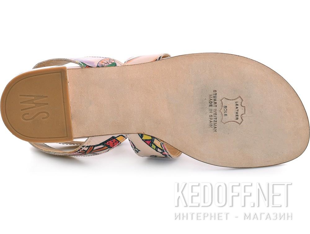 Жіночі босоніжки Stuart Weitzman 54417 (бежевий) купить Киев