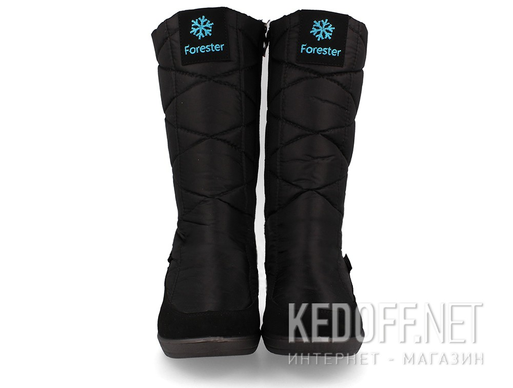 Winter boots  Forester Snow 1452-27 Black Nylon