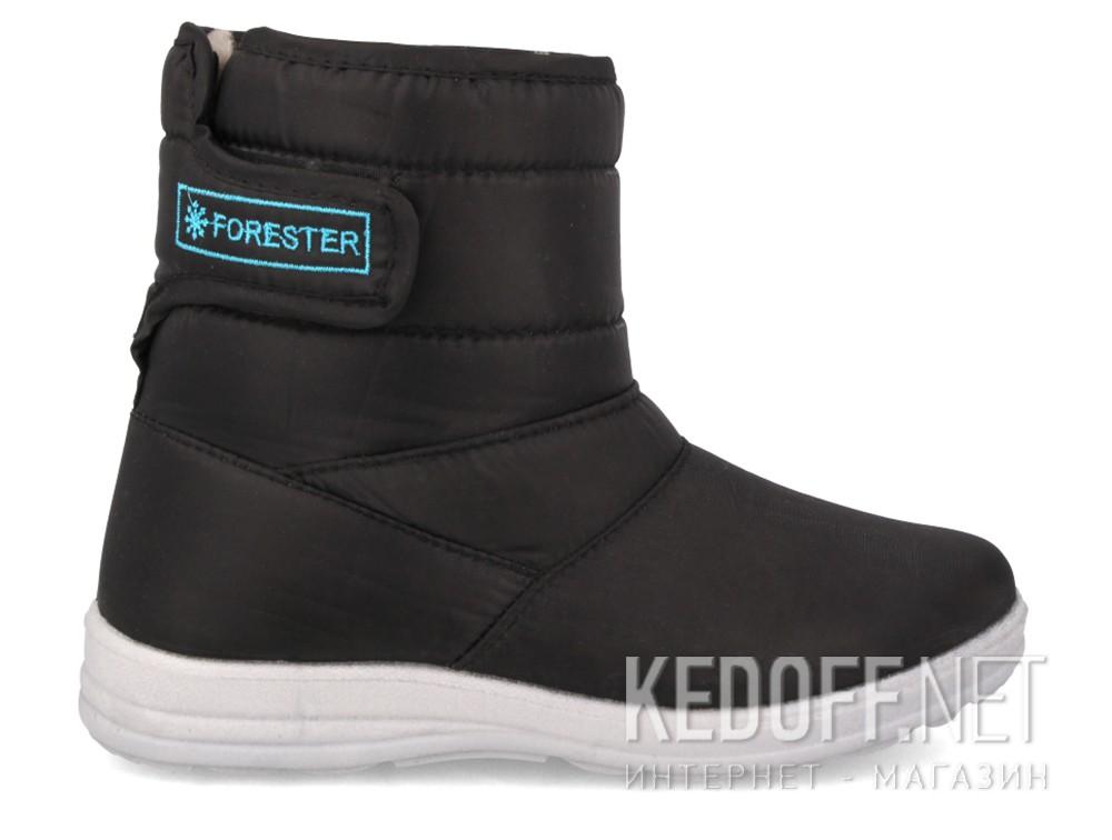 Дутики Forester 26480-27 унисекс   (чёрный) купить Киев