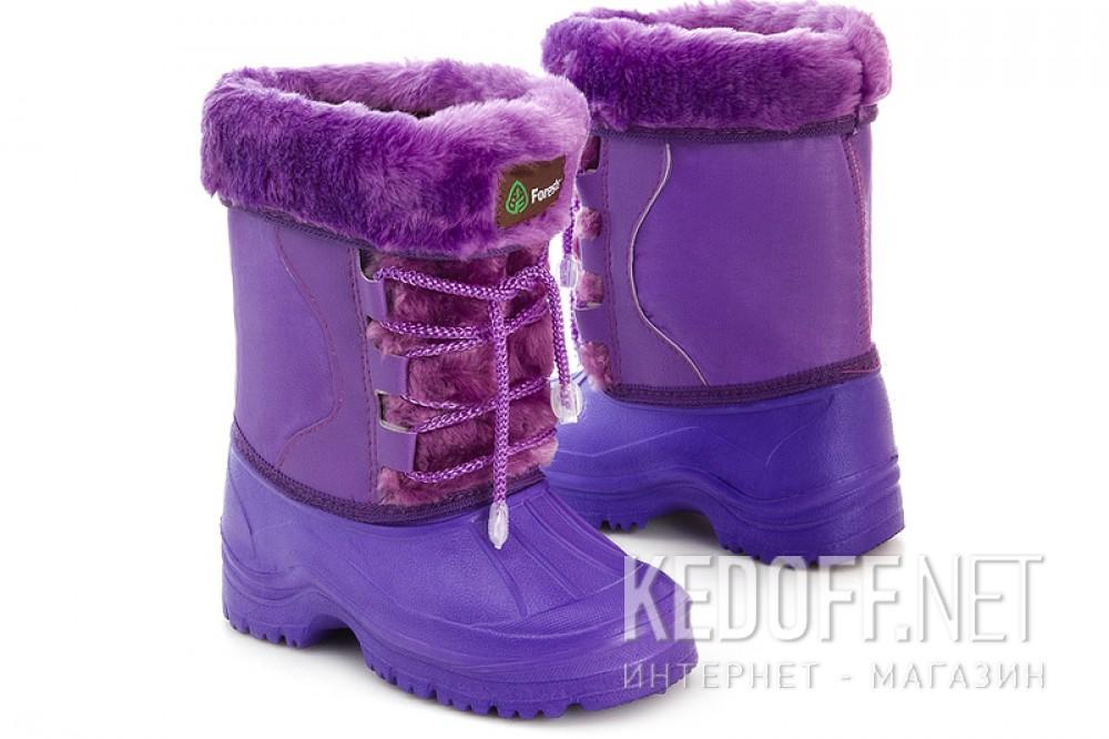 Детские сноубутсы Forester 3448   (фиолетовый) купить Украина