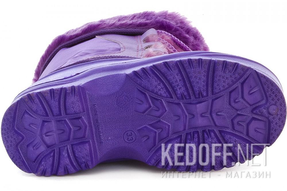 Детские сноубутсы Forester 3448   (фиолетовый) все размеры