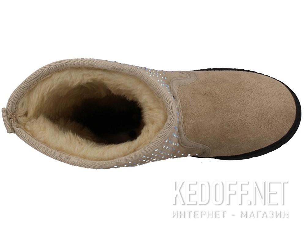Оригинальные Женские сапоги Forester 701-118   (бежевый)