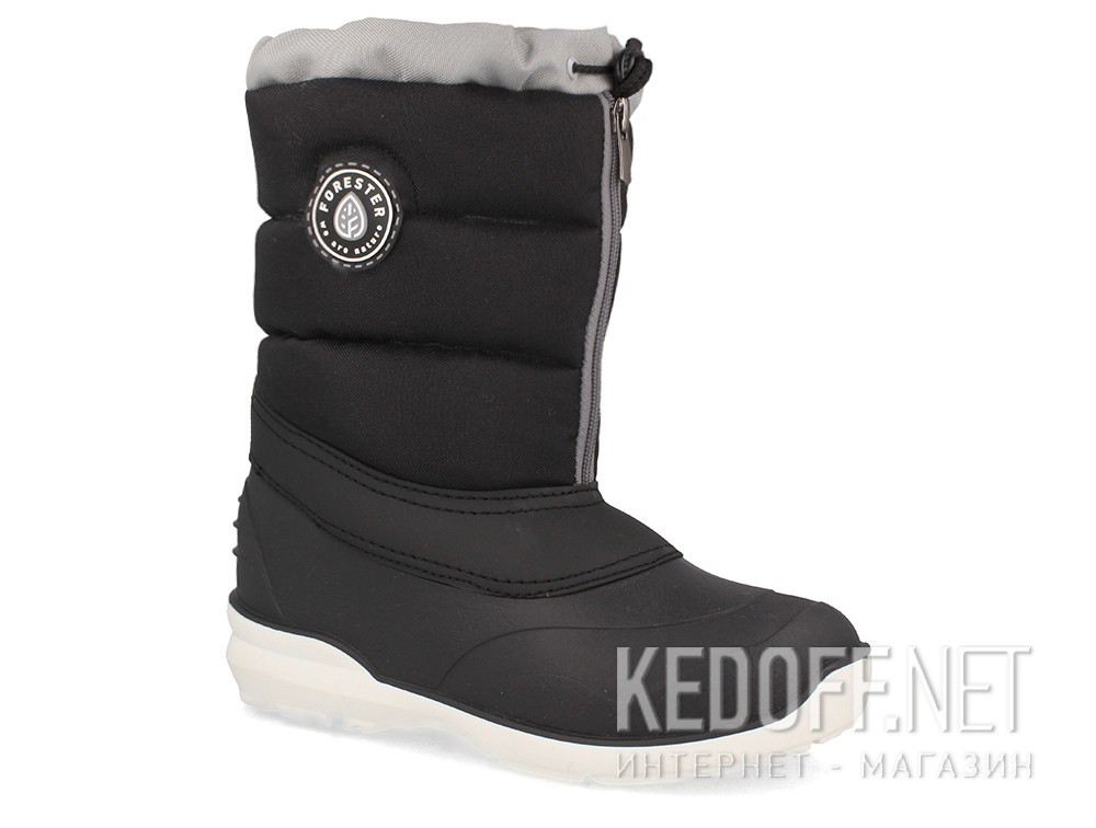 Winter boots Forester Arktika A70111-27 Black