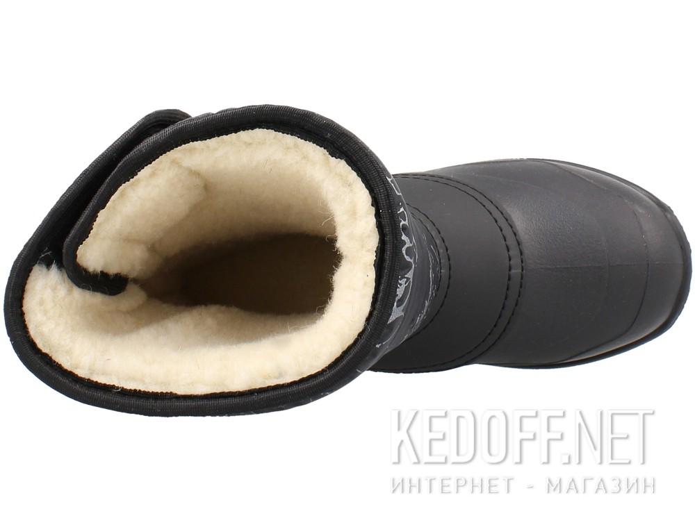 Сапоги Forester A7012-27 Черный, Текстиль