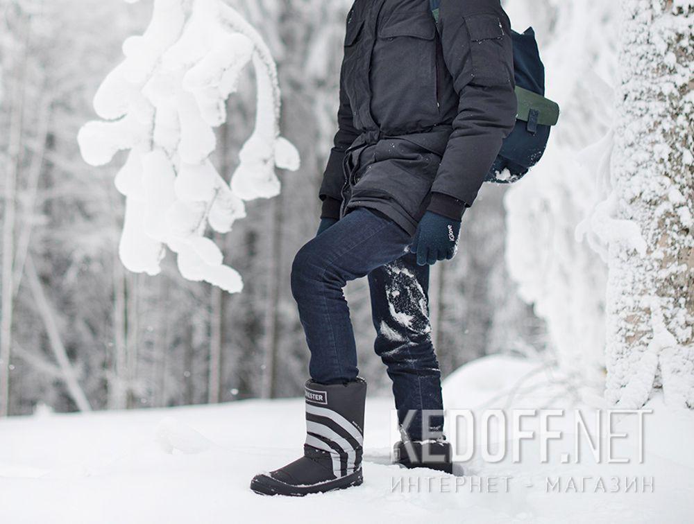 Сапоги Forester Apre Ski 23254-27SB Made in Italy унисекс (чёрный) купить Киев
