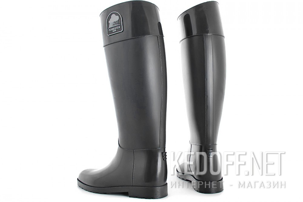 Rubber boots Forester Rain 1986-37 Charcoal